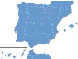 Espaã Portugal y Norte de Africa